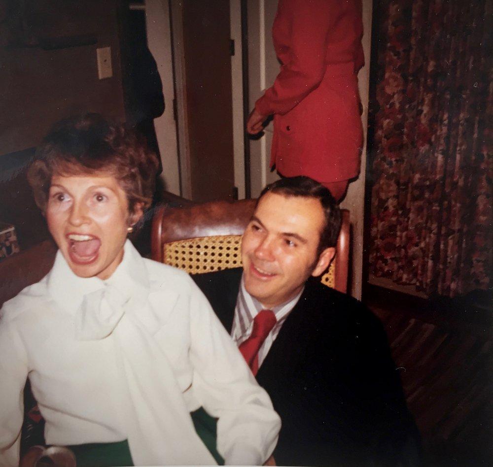 Mary & Robert Truitt, Circa 1965