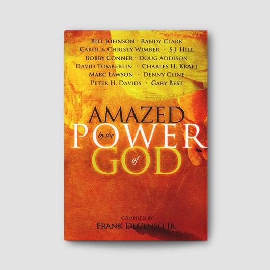 "The book - Hey guys check out this book. For this project I collaborated with Bill Johnson, Randy Clark and other great leaders. I believe ""Amazed by the Power of God"" will lift your faith. Enjoy!"