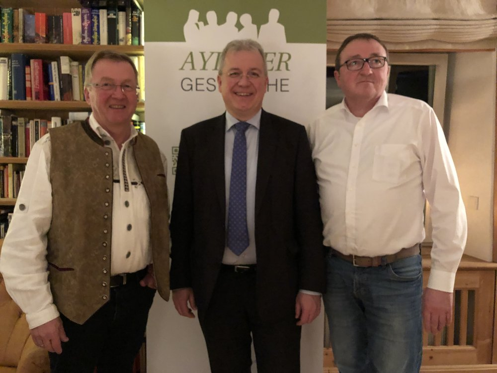 Andreas Westerfellhaus, Markus Ferber und Alois G. Steidel