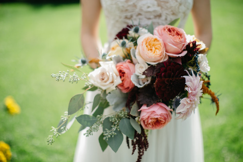 Photo by    Audre Rae Photography   , Bouquet by    Daffodil Parker