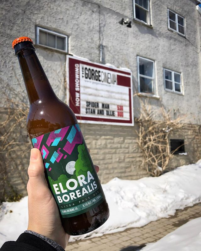 March Break Tip #2 - Take the family to see a movie at Elora's own The Gorge Cinema, I hear they're playing both Spiderman into the Spiderverse AND The LEGO movie 2! After the credits roll, stroll up the hill and stop in at the Brewery for some kiddo sized meals and adult sized pints 🍻 . . . #elorabrewingcompany #elora #visitelorafergus #discoverON #drinklocal #drinkcraft #craftbeer #beernerd #lovecraftbeer #explorecanada #localtourist #519local #gettingcrafty #discoverontario #escapetoronto #escapeTO #blogto #beer #beerme #beeroclock #beerstagram #marchbreak #eloragorge #gorgecinema #supportlocal
