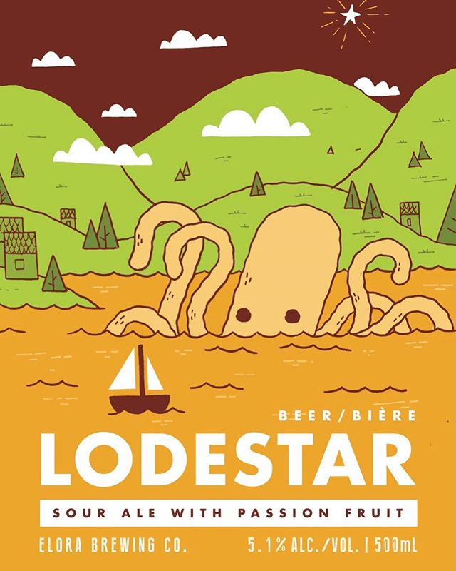 Set your alarms, mark it in your calendars, ask your mom to remind you because LODESTAR SOUR ALE with PASSIONFRUIT is returning to the Elora Brewing Co. THIS Friday, March 15th at 11am 👏 👏 👏 . Sitting at 5.1% ABV with robust passionfruit aromas woven against citrus and fresh orchard fruits. Smooth across the palate finishing bright and effervescent with balanced yeast tones and noticeable tartness 🍻 . . . #elorabrewingcompany #elora #visitelorafergus #discoverON #drinklocal #drinkcraft #craftbeer #passionfruit #lodestarsourale #explorecanada #localtourist #519local #gettingcrafty #discoverontario #escapetoronto #escapeTO #blogto #beer #beerme #instabeer #beeroclock #brewlife #brewery #beerstagram #sourale