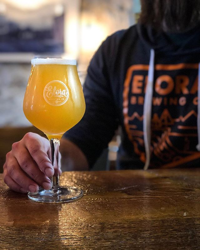 🙌 Beer Release Friday 🙌 LODESTAR SOUR ALE with PASSIONFRUIT | 5.1% ABV Robust passionfruit aromas are woven against citrus and fresh orchard fruits. Smooth across the palate finishing bright and effervescent with balanced yeast tones and noticeable tartness. . Available on draft and in 500ml bottles TODAY! 💕 . . #elorabrewingcompany #elora #visitelorafergus #discoverON #drinklocal #drinkcraft #craftbeer #beernerd #beerrelease #explorecanada #localtourist #519local #discoverontario #escapetoronto #escapeTO #blogto #beer #beerme #instabeer #beeroclock #brewlife #brewery #beerstagram #lodestarsourale #passionfruit #sourale #TGIF