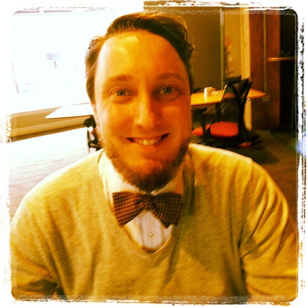 "tietuesdaystyle :     ""Bowties are cool…that's all there is to say!"" #tietuesdaystyle"