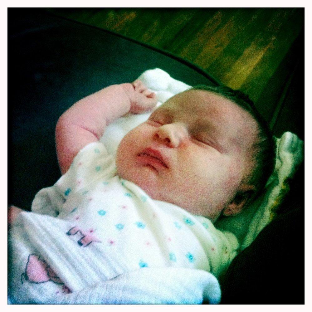 She's Always Sleeping.   John S Lens, Blanko Film, No Flash, Taken with  Hipstamatic