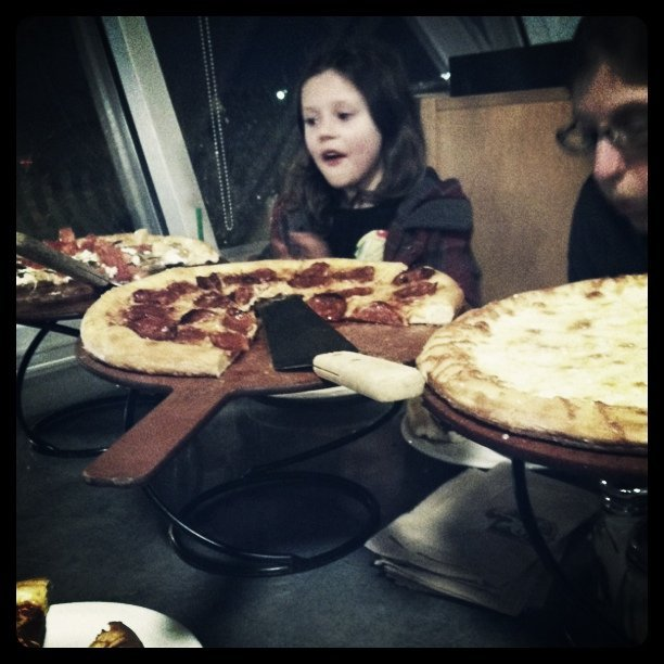 Pizza night (Taken with  Instagram  at Pagliacci Pizza - Kenmore)