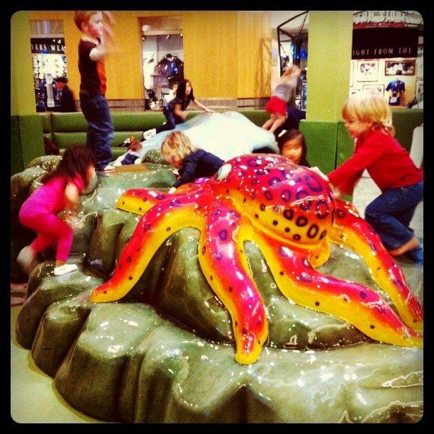 Kids + foam molded animals = great Valentien's Day (Taken with  Instagram  at Alderwood Mall)