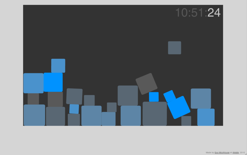 Blockclock is fun. Kind of just want to stare at it all day.   (click image)
