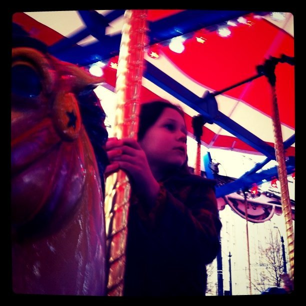 Ridin' around on the carousel will I catch up to you? (Taken with  Instagram  at Westlake Center)