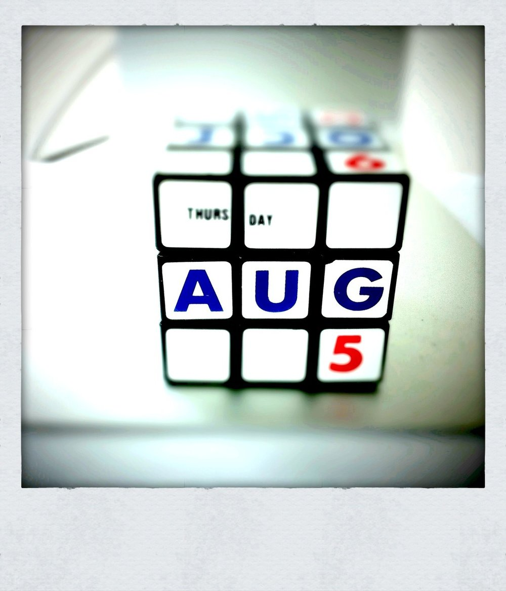 Today is Thursday Aug 5.