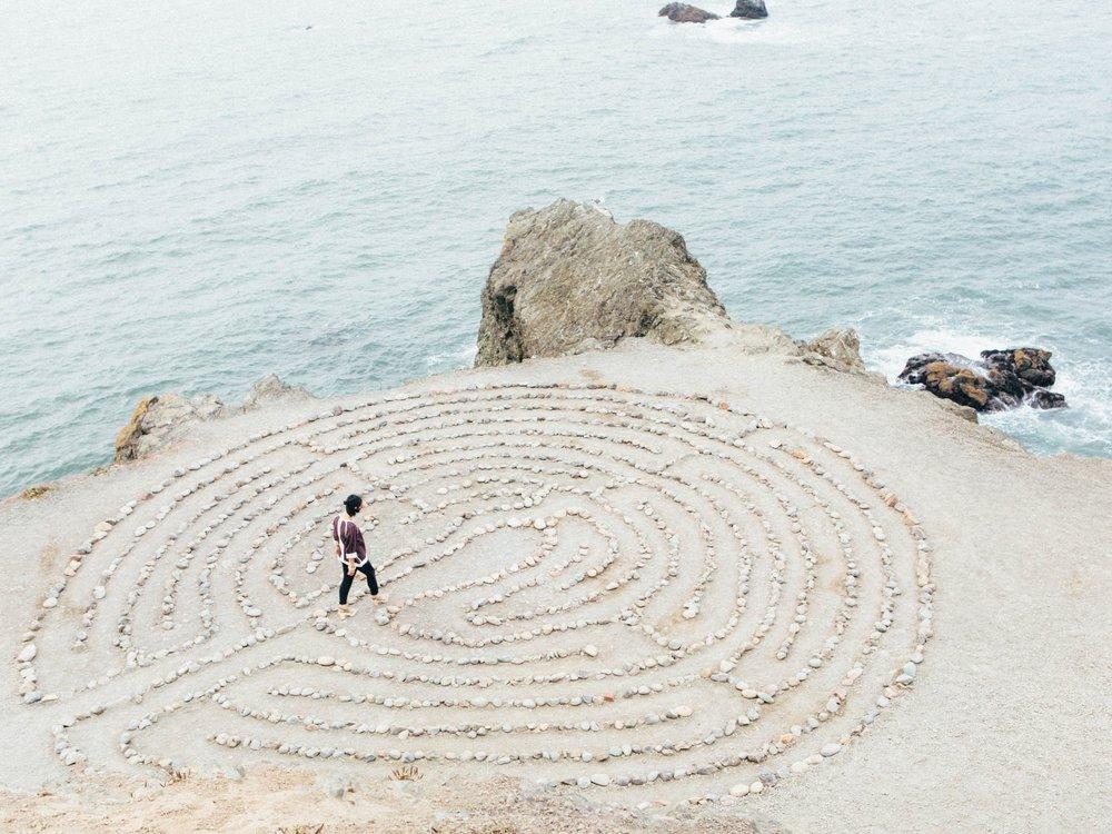 Labyrinth ritual -