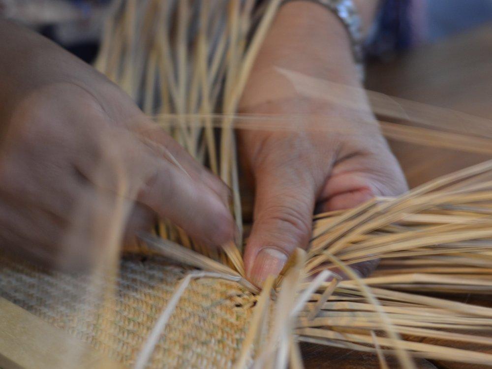 weaving crafts -