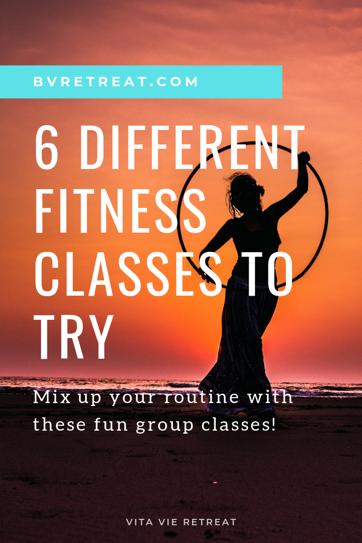 Hula hooping fitness class is fun, dynamic and interesting.