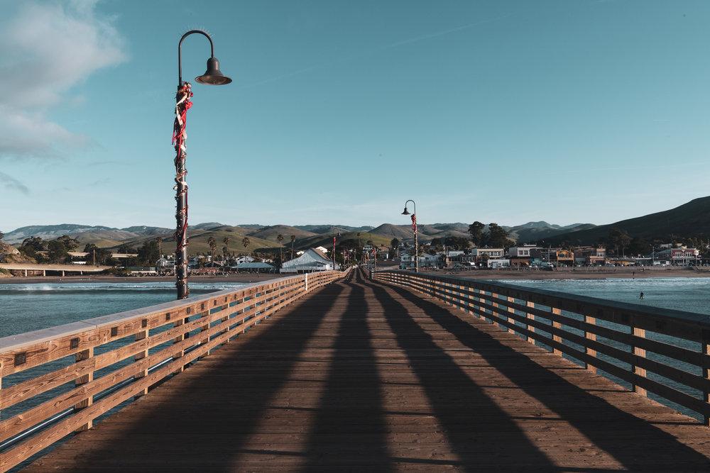 Fishing Pier - Cayucos, CA