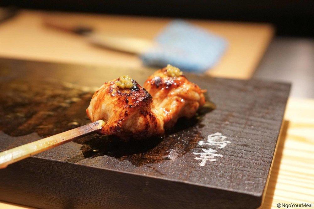 Chicken Oyster at Toriko