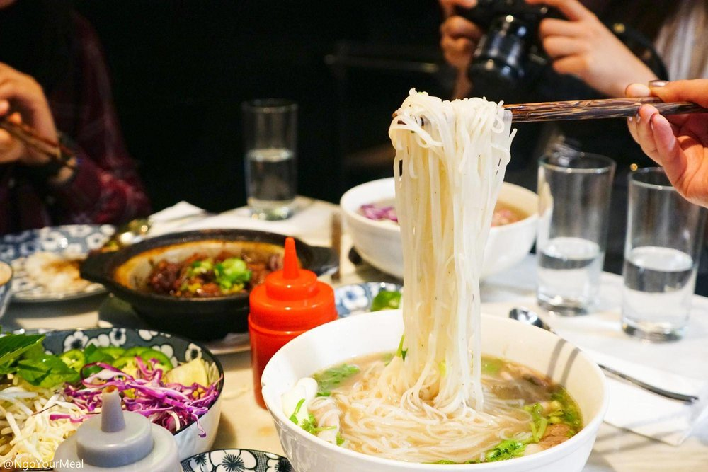 The Madame Pho at Madame Vo in New York City
