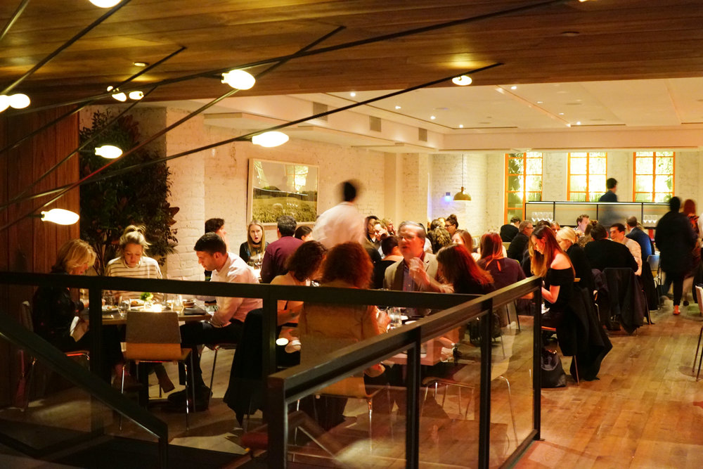 Dining Area at Loring Place in New York City