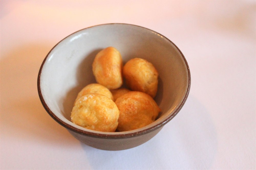 2006 Gougeres with Grated Gruyere at EMP in New York City