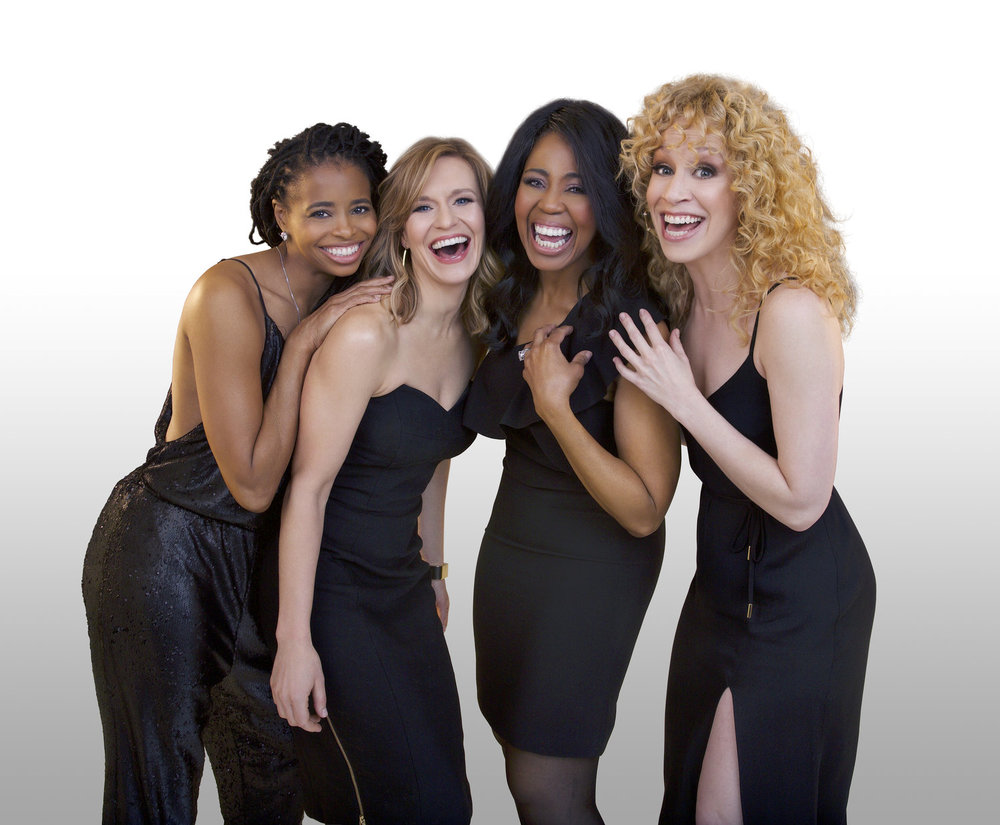 Chick-Flick-the-Musical_Cast-Black-Dresses-on-Cyc