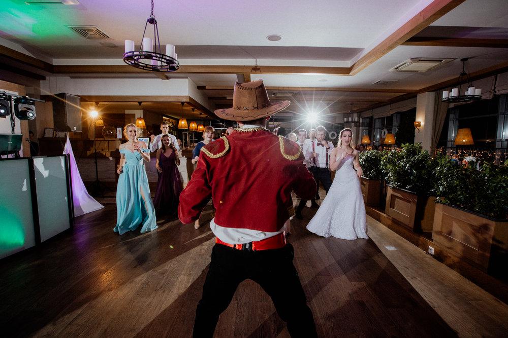 Zabawa weselna - kowboje