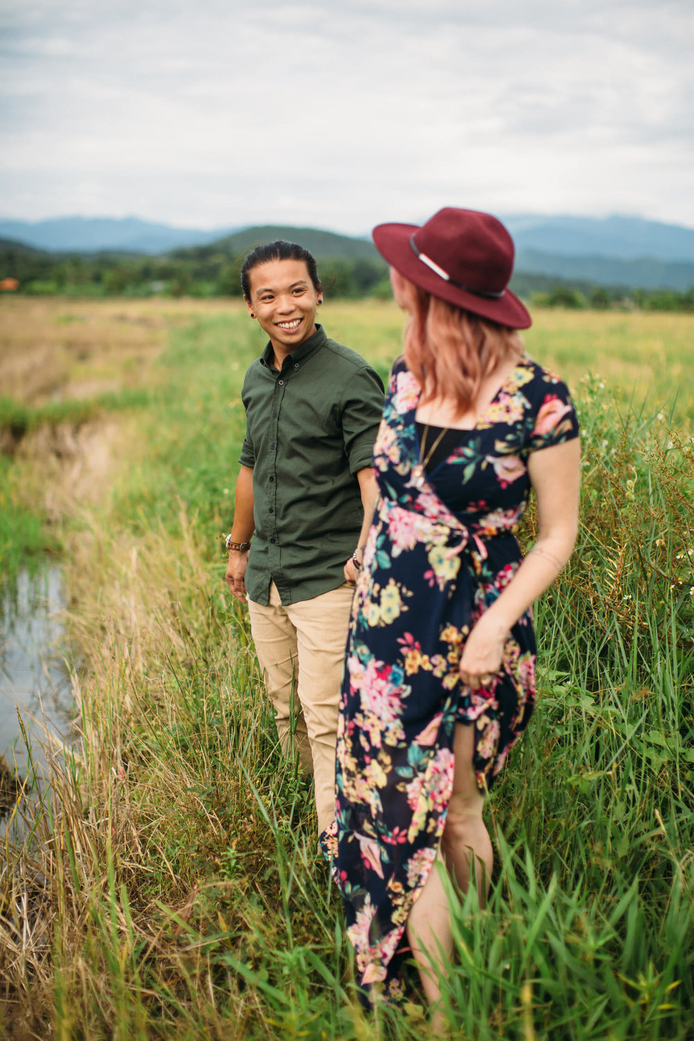 Chiang Mai Thailand Mountain Engagement