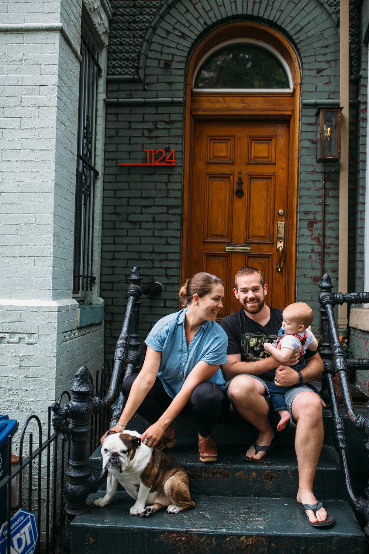 Washington Dc Lifestyle family photos at home