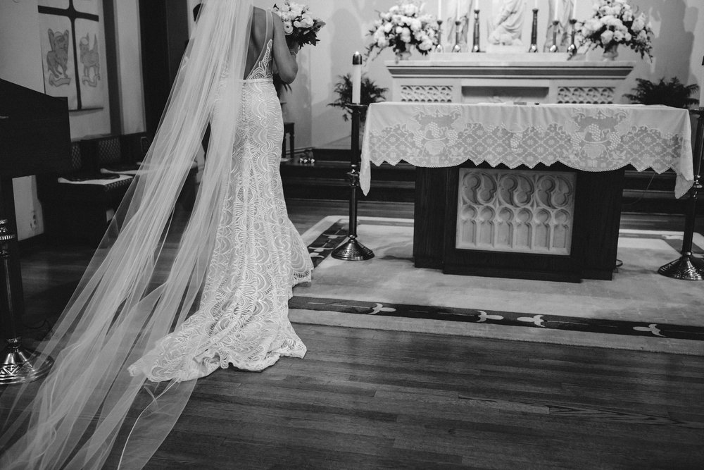Church wedding, st louis missouri, wedding photographer