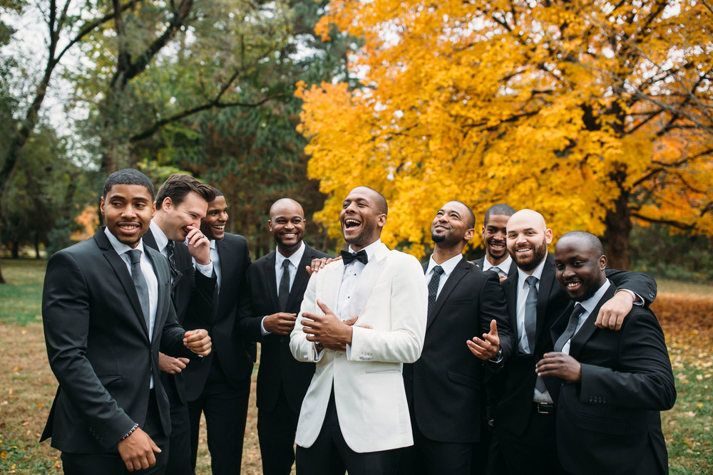 St Louis Wedding Photographer, Groomsmen style