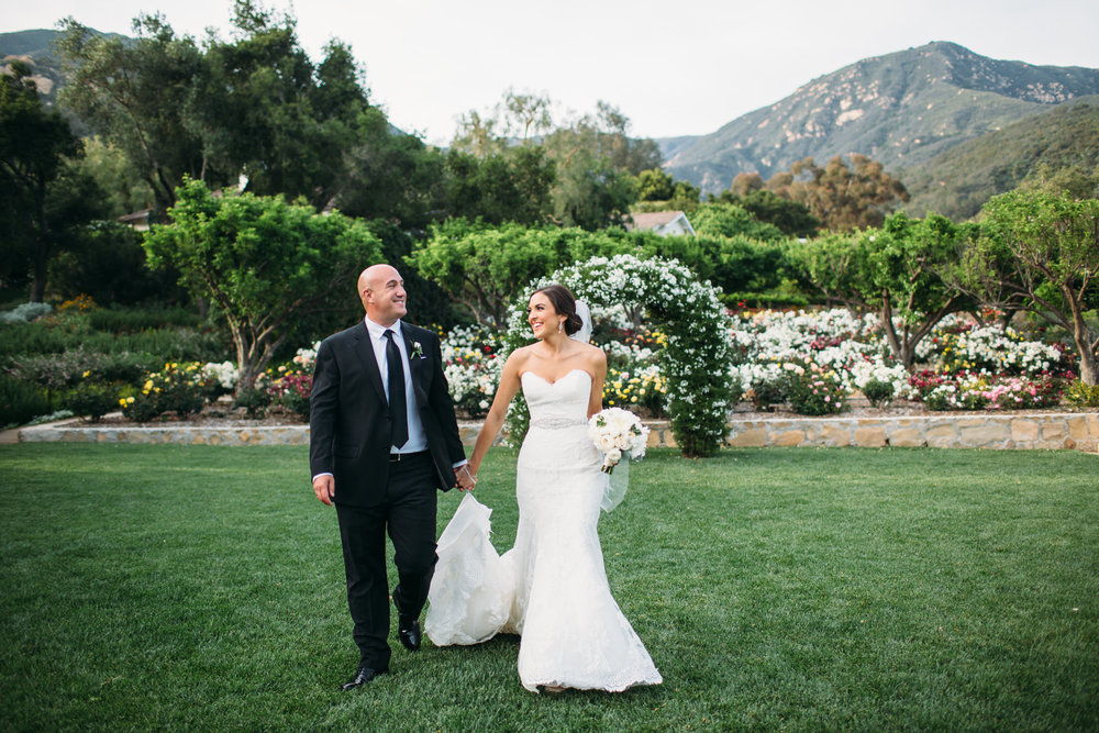 Santa Barbara California Wedding San Ysidro Ranch