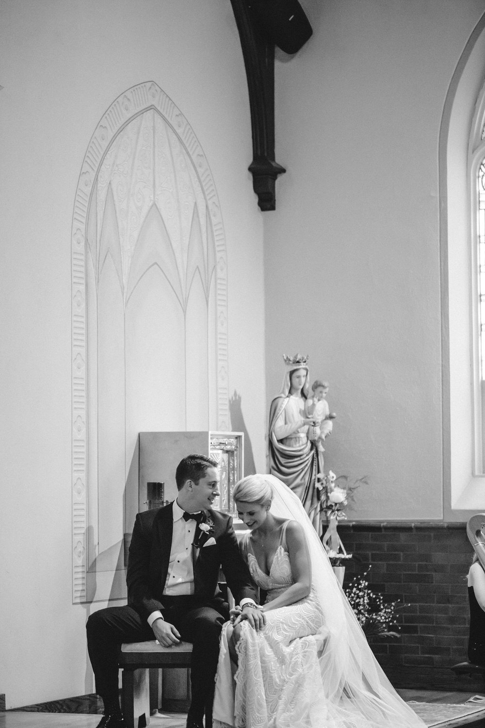 Classic church wedding, st Louis missouri