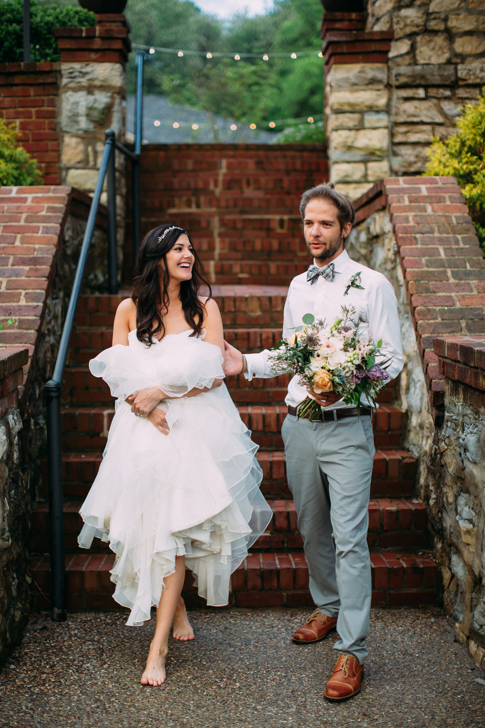 Bohemian wedding, st louis wedding photographer