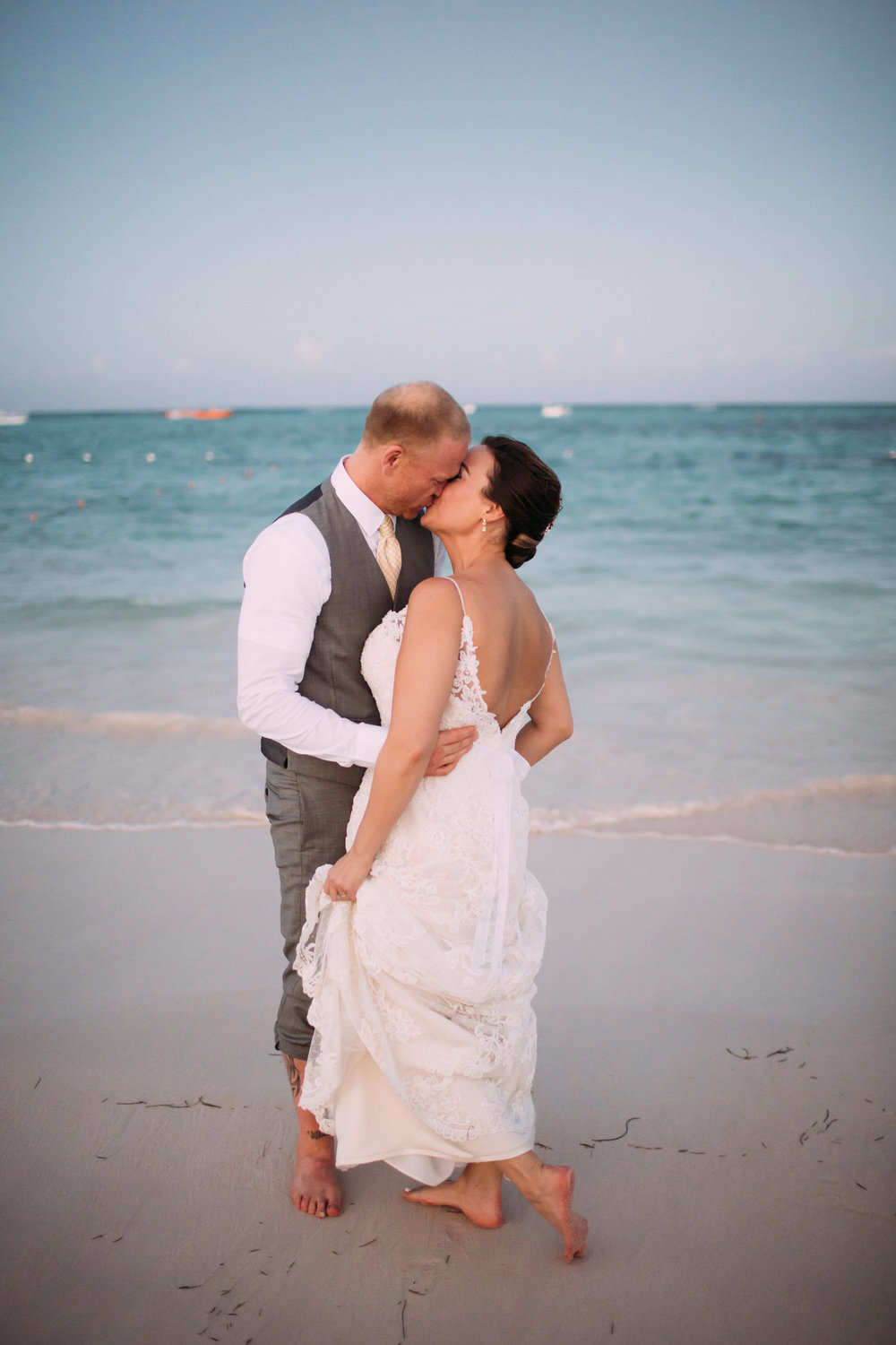Dominican Republic Destination Wedding, beach, Photographer