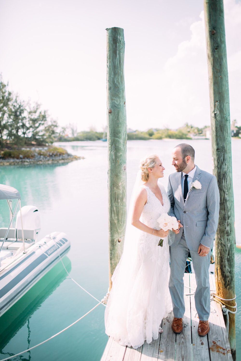 Turks & Caicos Wedding Photographer, bride and groom