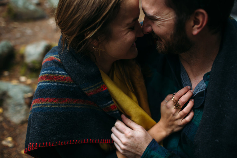 Cozy Mountain Engagement Photos, Denver Wedding & Engagement Photographer