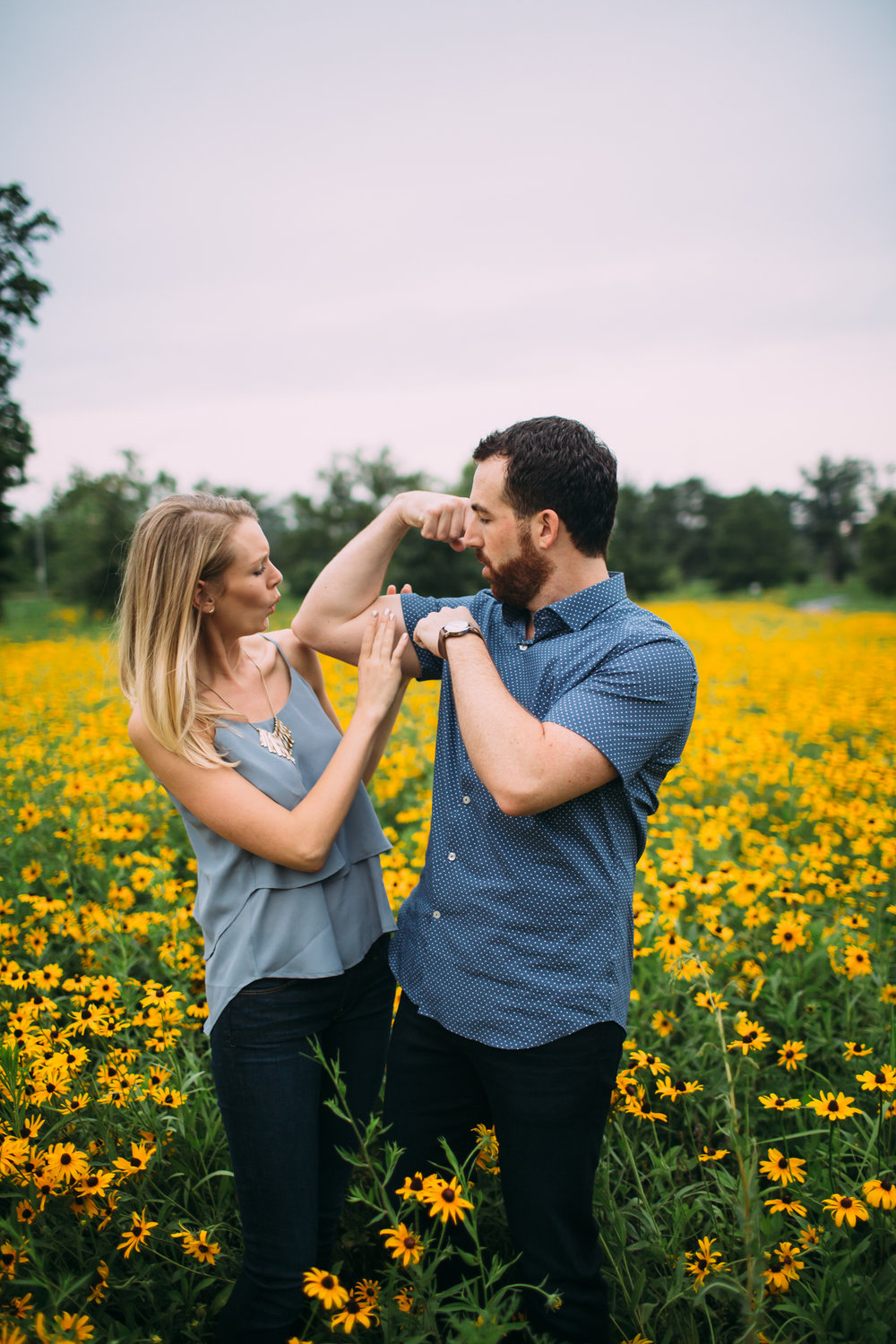 Silly engagement photos, funny engagement photos, Utah wedding photographer