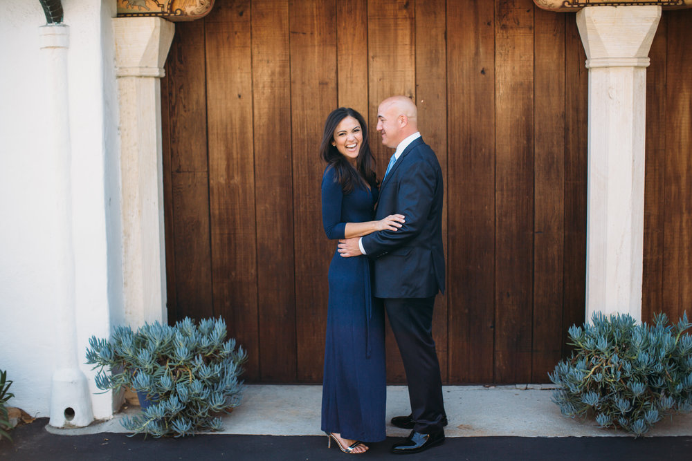 Santa Barbara Engagement Photos, Casa Del Herrero, SoCal Wedding Photographer,