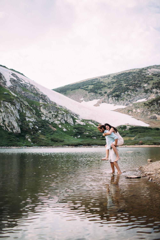 St Mary's Glacier, Colorado Engagement Photographer, Colorado Wedding Photographer