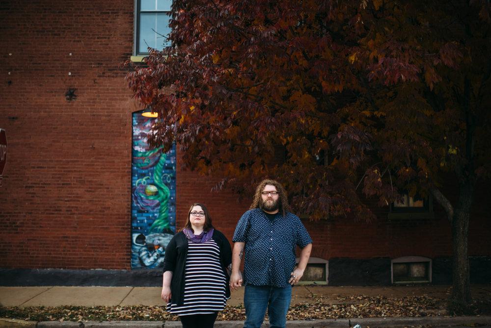 alternative wedding photographer, City engagement photos, Seattle Wedding photographer