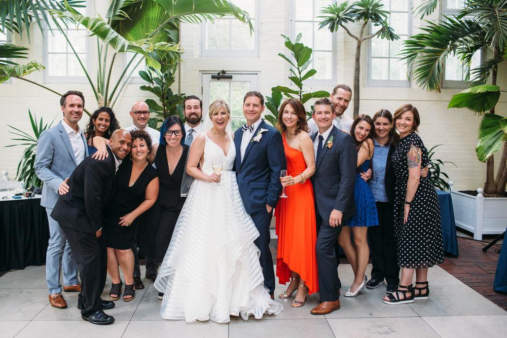 Wedding party photos, group photos at a wedding, relaxed wedding photos, Denver Wedding Photographer, St Louis Wedding Photographer