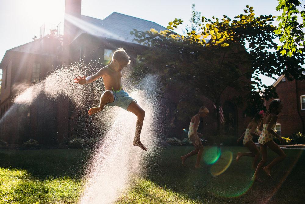 Summertime family photos, St louis Photographer