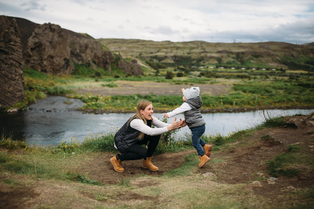 Iceland family photographer, family adventures