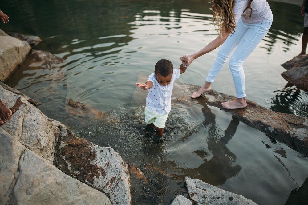 Utah family adventure, Hiking Cecret Lake