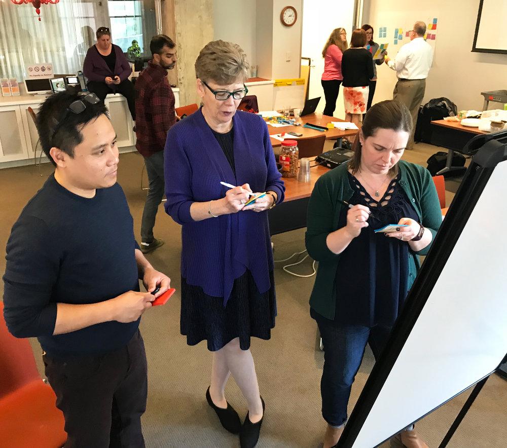 Marlon G. Saria, Lynne Taylor, and Bethany Kwan