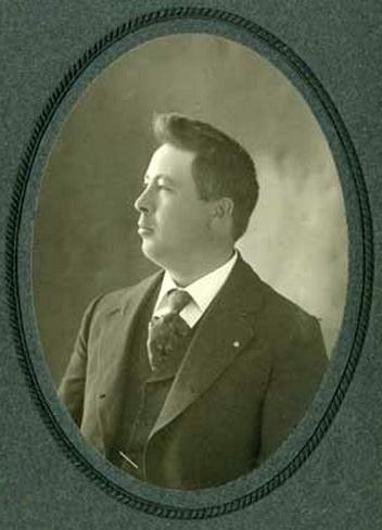 John Lund in 1905. Photo: MNHS (por 28520 r1)