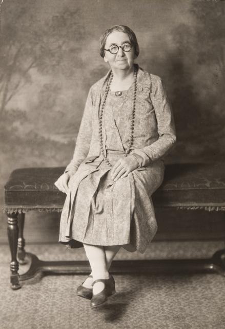 Eloise Butler, 1925. MNHS (por 19077 p1 )