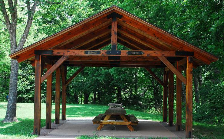 Have a Picnic - Enjoy a lunch at the large pavilion or picnic tables located along the trail to the mill.