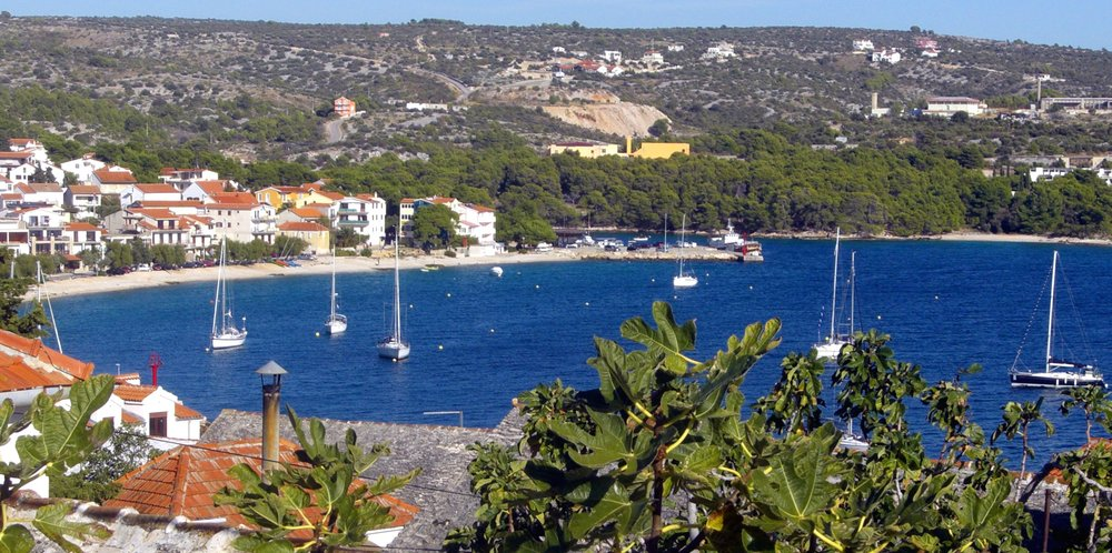 Beautiful Primosten is located 15km from our apartments