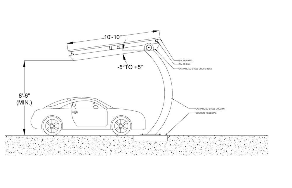 Kronos Carport Presentation Drawing