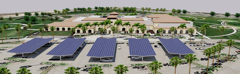 Orion Carport: Wing System Rendering