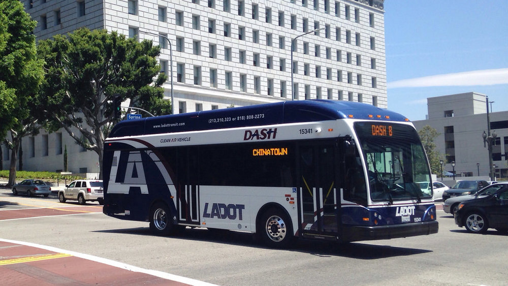 Los Angeles Department of Transportation (LADOT) Bus